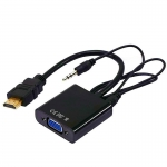 Переходник HDMI - VGA+Audio